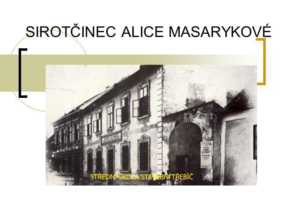 HISTORIE Sirotčinec byl zřízen v budově bývalé školy, která 1847 vyhořela.