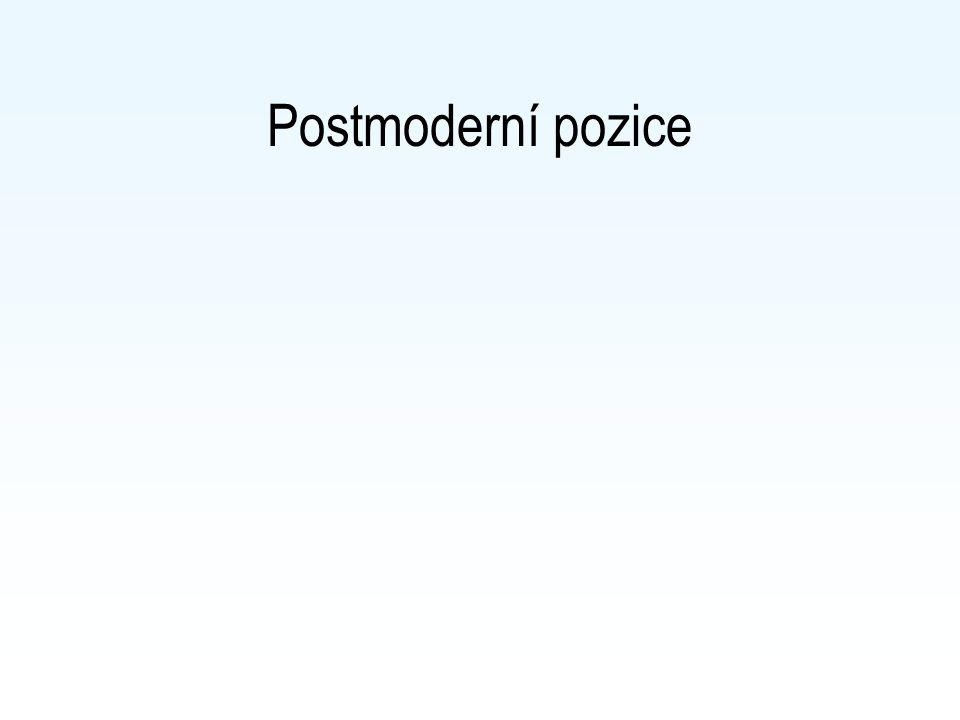 Postmoderní pozice