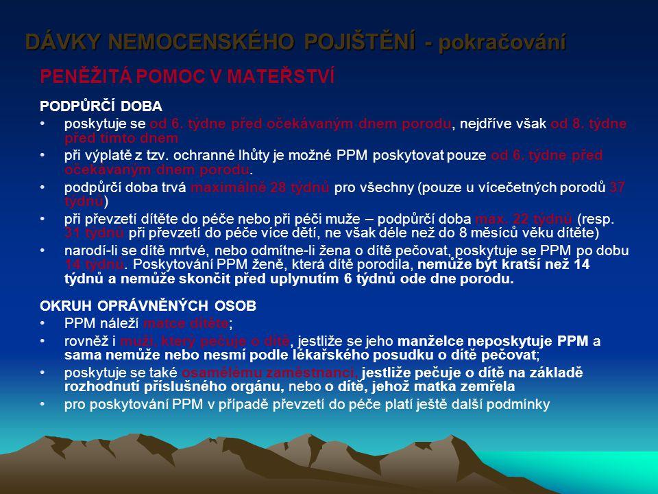 Správa a řízení v důchodovém pojištění ČSSZ rozhoduje o dávkách – z.