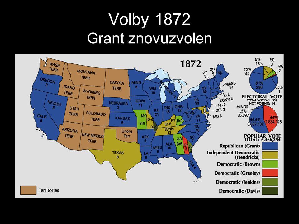 Volby 1872 Grant znovuzvolen