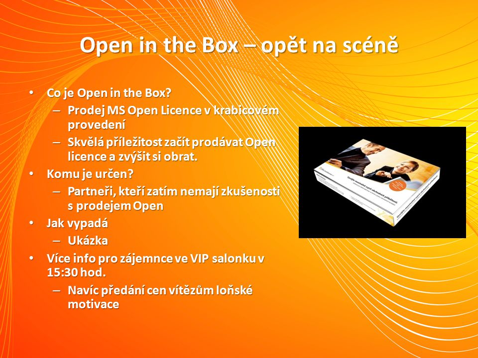 Open in the Box – opět na scéně Co je Open in the Box.