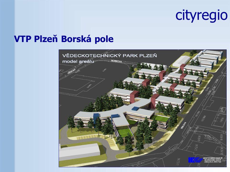 cityregio VTP Plzeň Borská pole