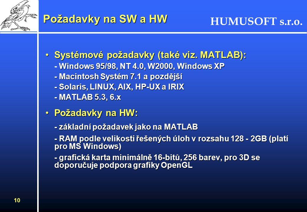 HUMUSOFT s.r.o. 9 FEMLAB - knihovna příkladů Nabízí kolem 80 příkladů z různých technických oborů a z fyzikyNabízí kolem 80 příkladů z různých technic