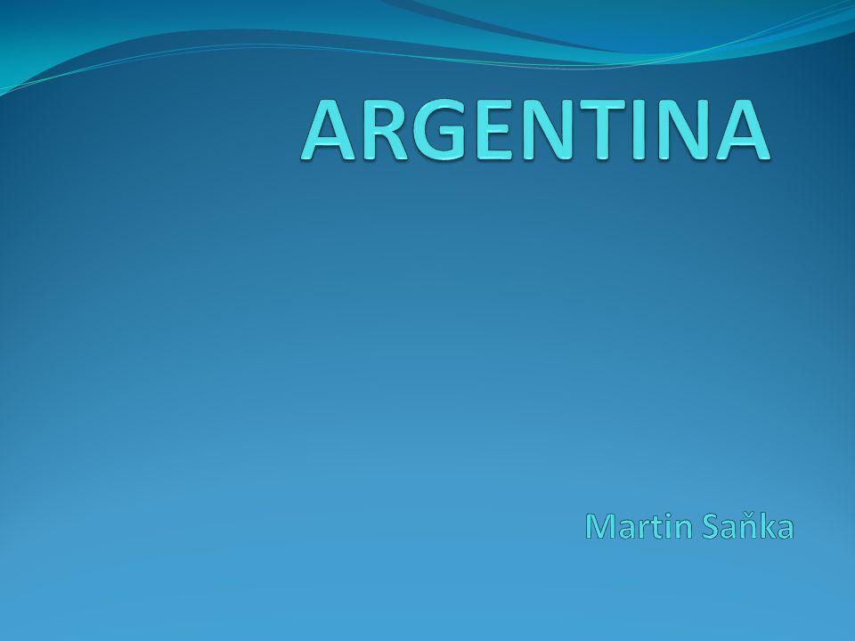 ZAKLADNÍ UDAJE Hlavní město: Buenos Aires vlajka: Rozloha: 2 780 400 km² Počet obyvatel: 40 mil.