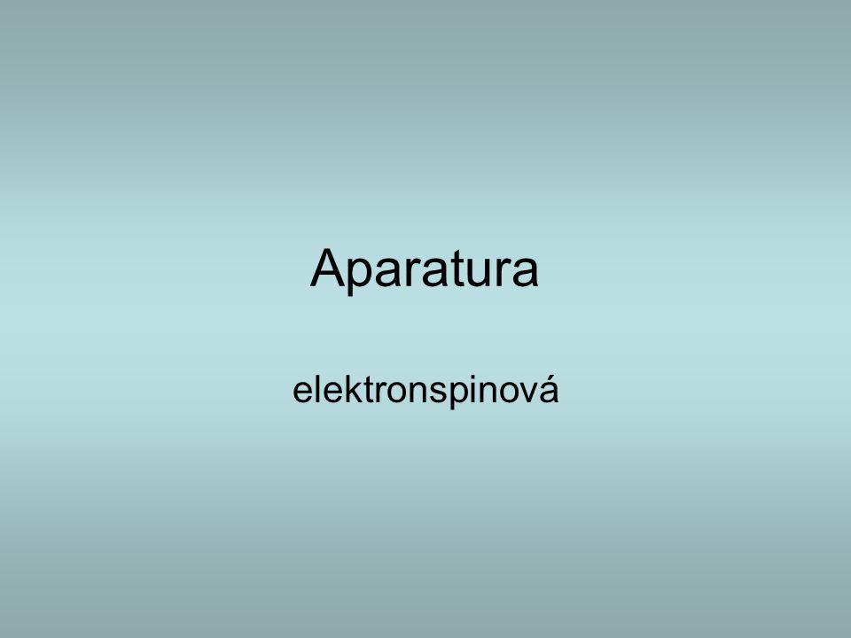 Aparatura elektronspinová