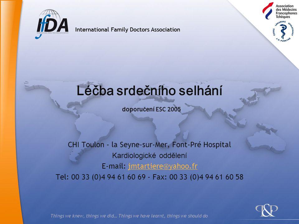 2 Čtyři etapy 1.Diagnóza 2.Prognóza 3.Léčba 4.Sledování Účinnost Snášenlivost Compliance