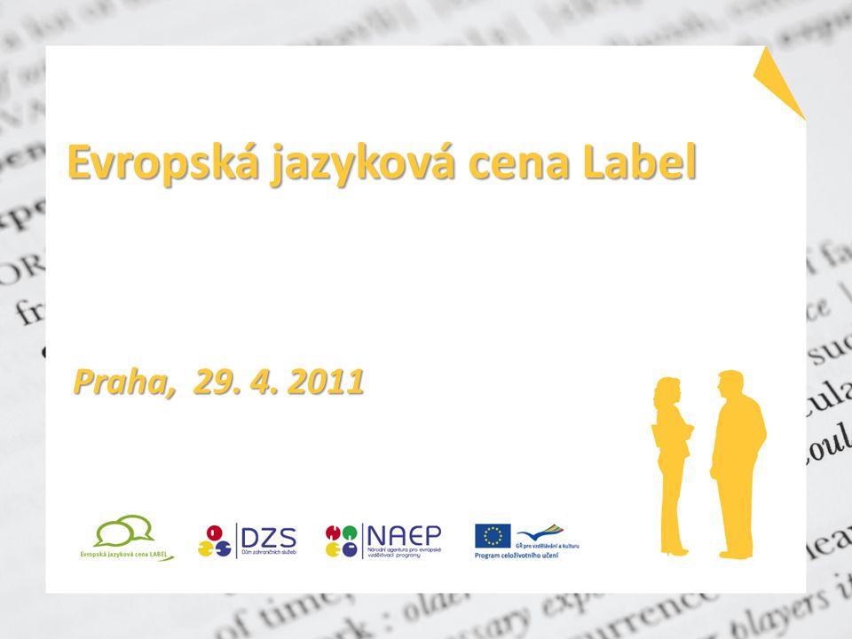 Evropská jazyková cena Label Praha, 29. 4. 2011