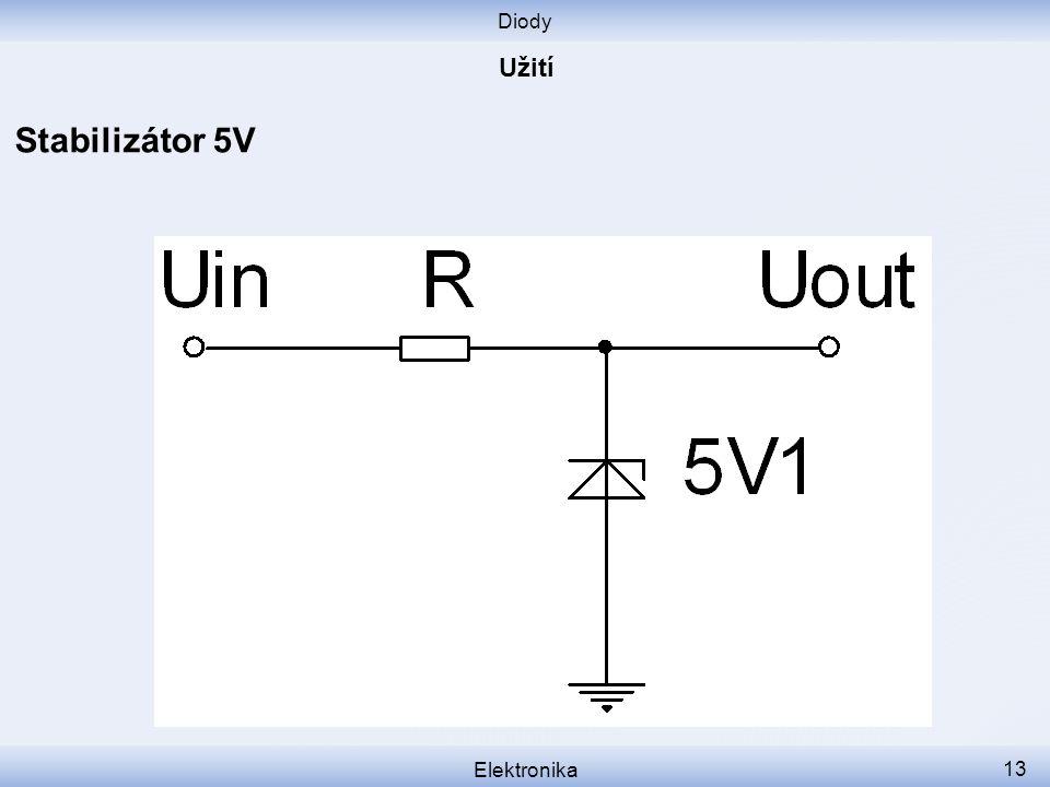Diody Elektronika 13 Stabilizátor 5V