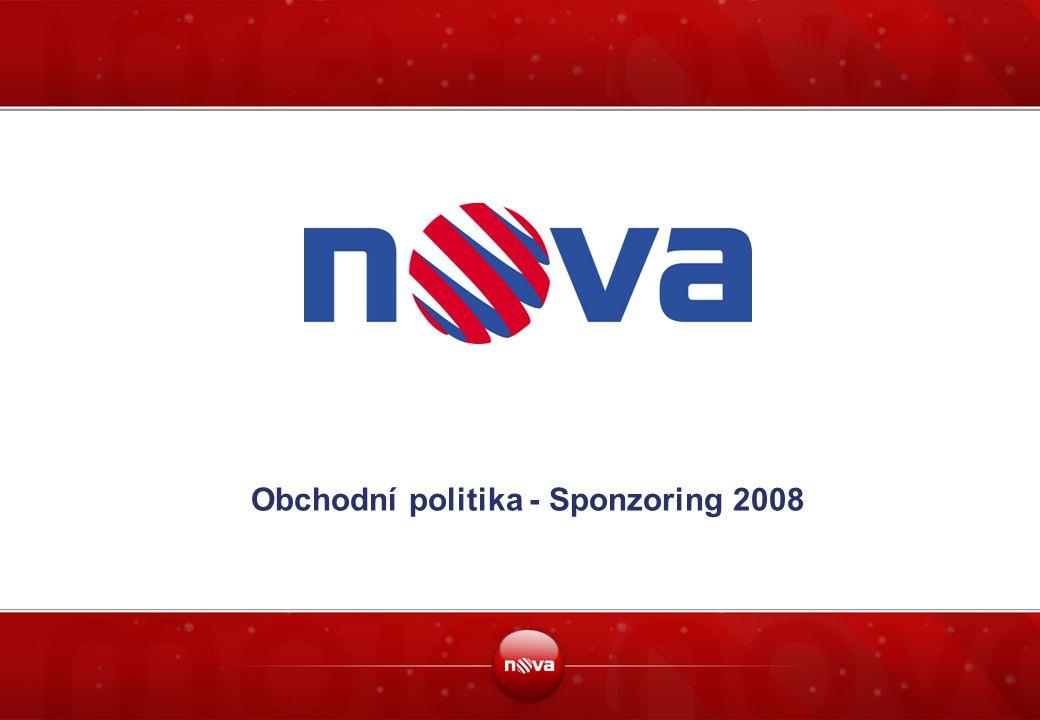 Obchodní politika - Sponzoring 2008