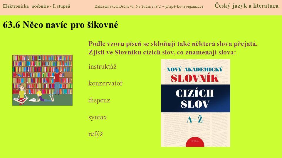 63.7 CLIL Elektronická učebnice - I.