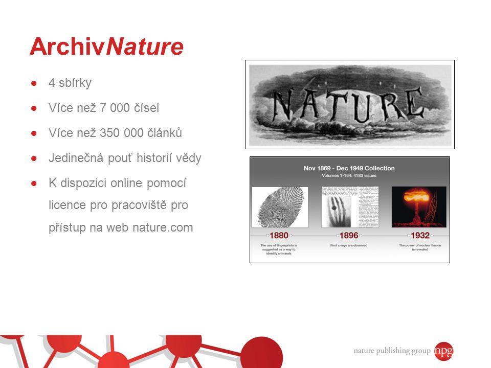 nature.com - přehled