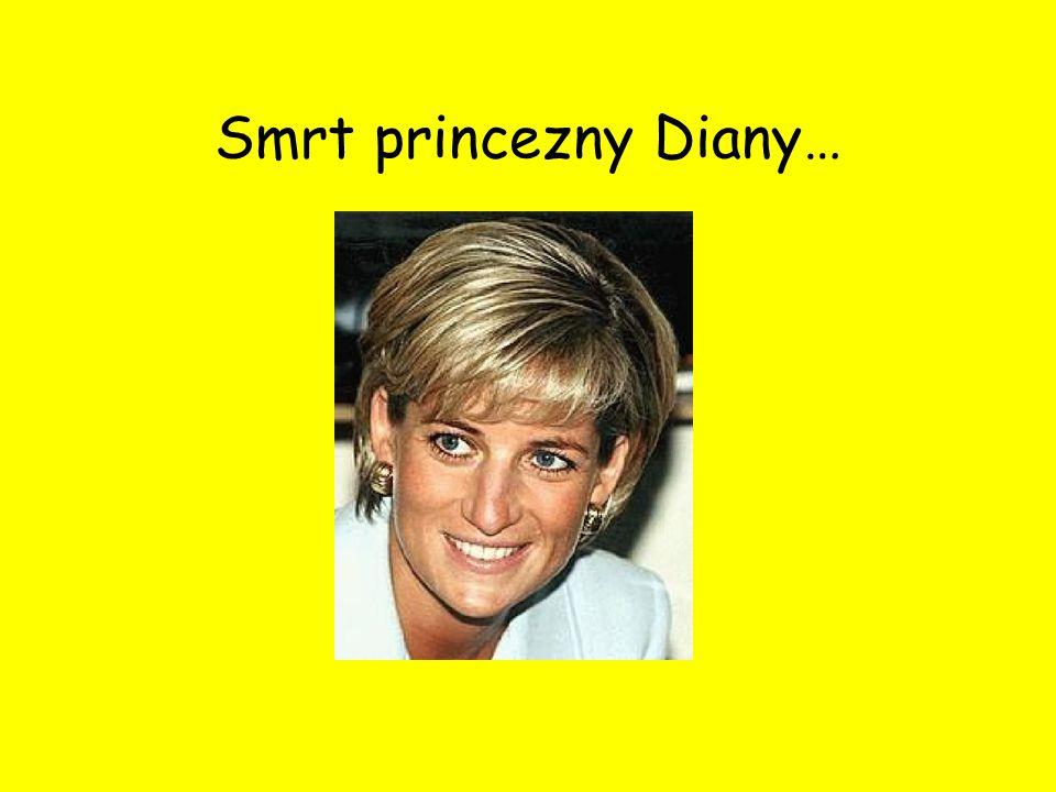 Smrt princezny Diany…