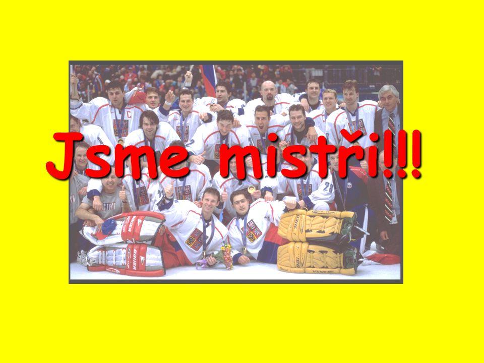Jsme mistři!!!