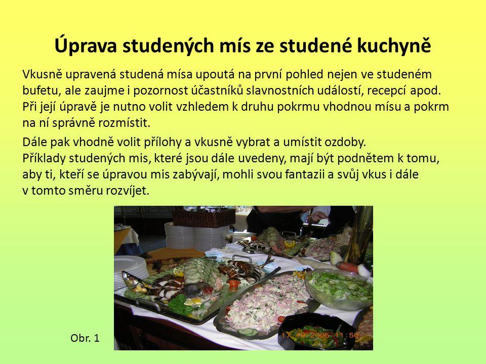 Seznam použité literatury: [1] Mikuláš Matejka, Irena Balagová: Technologie přípravy pokrmů 5, nakladatelství a vydavatelství IQ 147, spol.