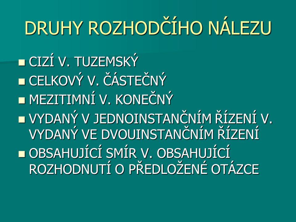 ČLÁNEK V.