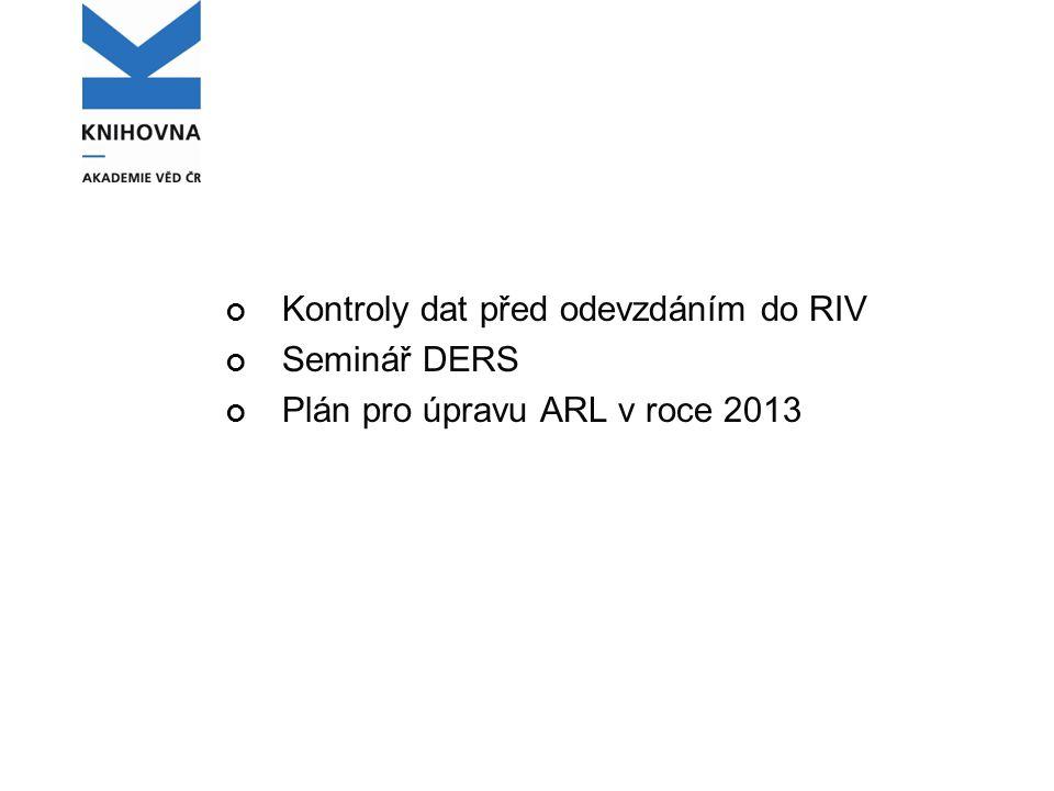 Výjimky ISBN ISBN, která vyjdou z kontrol RIV jako neplatná, přitom platná jsou.