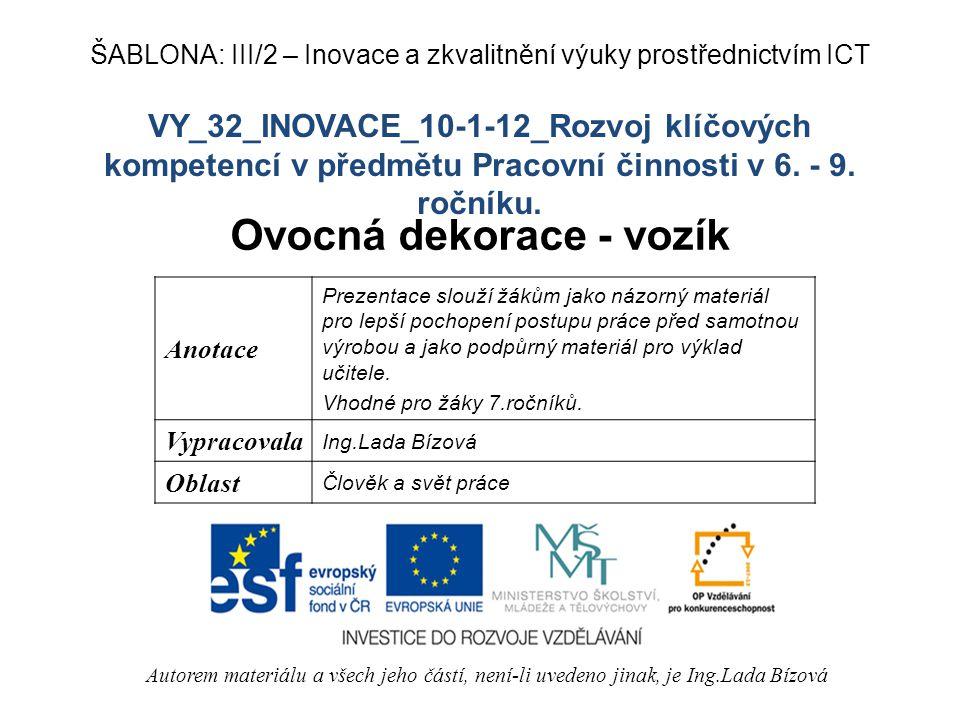 VY_32_INOVACE_10-1-12_Rozvoj klíčových kompetencí v předmětu Pracovní činnosti v 6.
