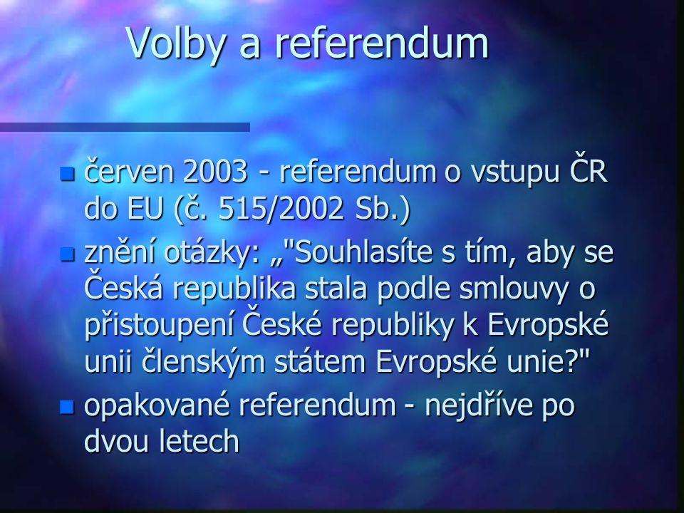 Volby a referendum n červen 2003 - referendum o vstupu ČR do EU (č.