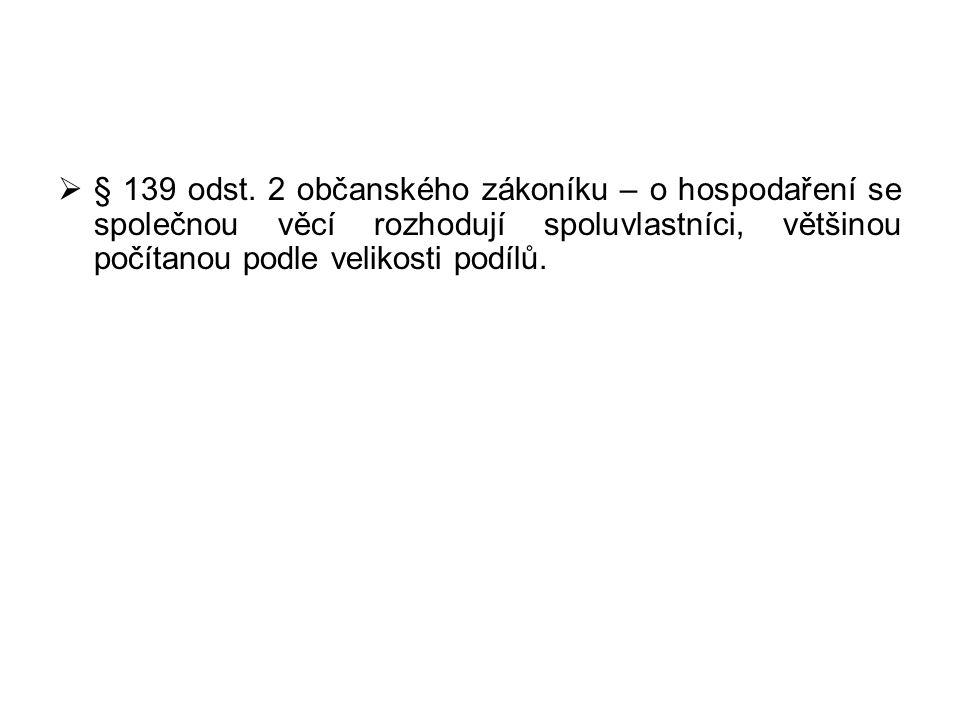  § 139 odst.