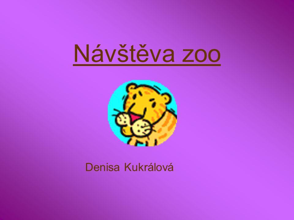 Návštěva zoo Denisa Kukrálová