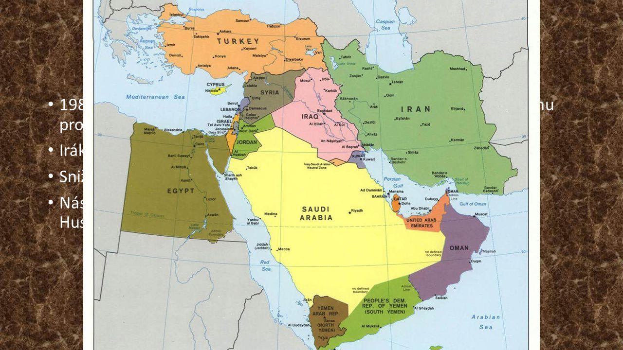 Průběh Únor 1990 – zasedání Arabské rady – projev S.