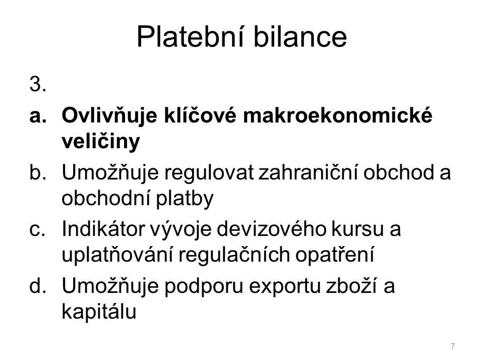 Platební bilance 3.