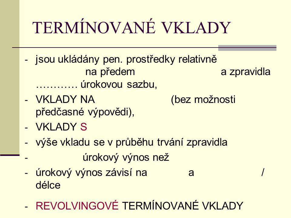 PLATEBNÍ KARTY První platební karta vydaná v Československu Živnostenskou bankou -1988 (k tuzexovým účtům)