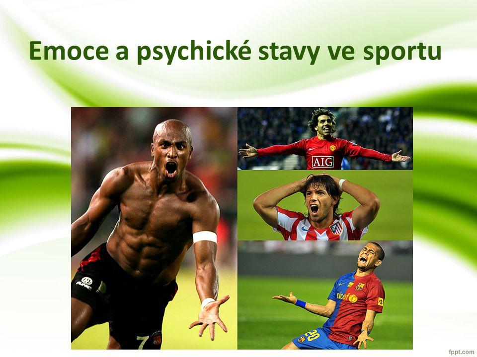 Emoce a psychické stavy ve sportu