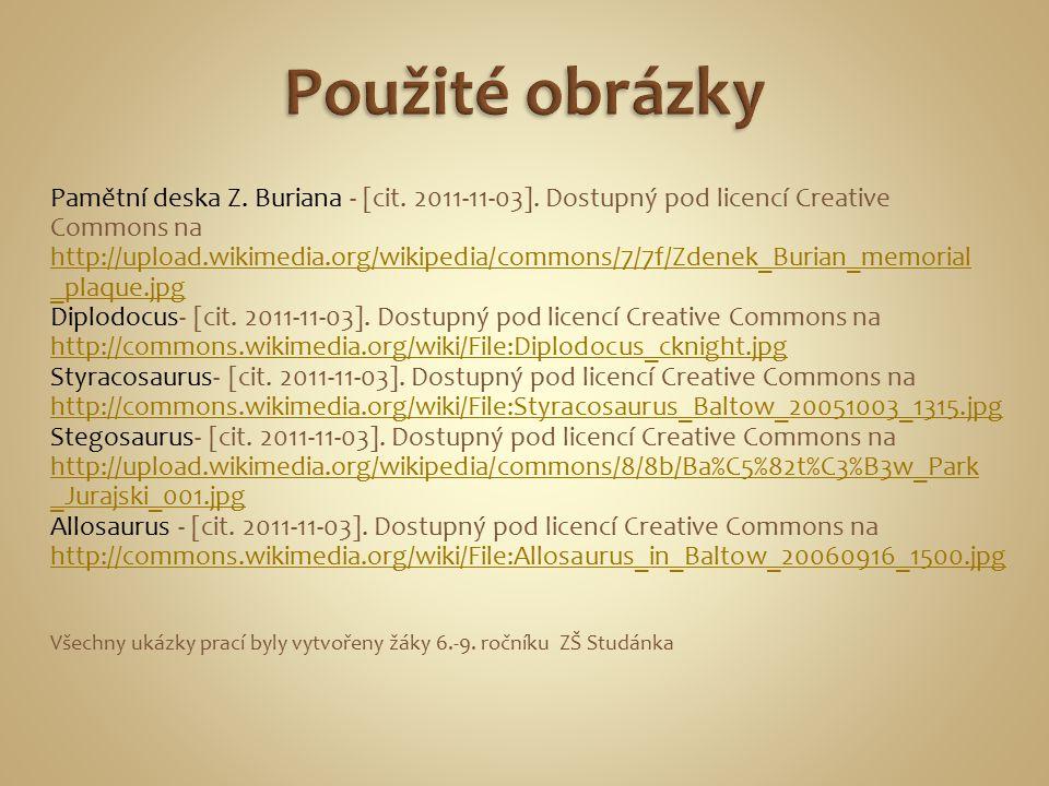 Pamětní deska Z. Buriana - [cit. 2011-11-03].