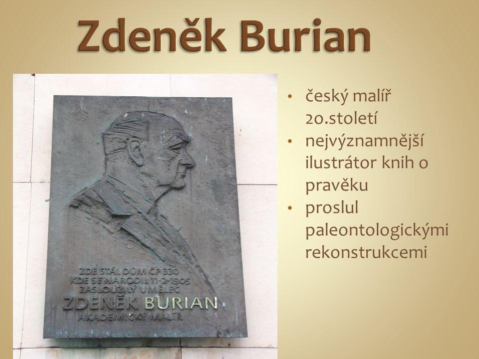 český malíř 2o.století nejvýznamnější ilustrátor knih o pravěku proslul paleontologickými rekonstrukcemi