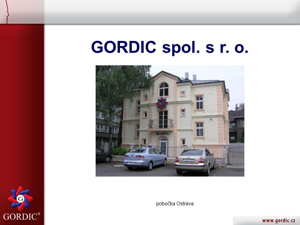 GORDIC spol. s r. o. pobočka Ostrava