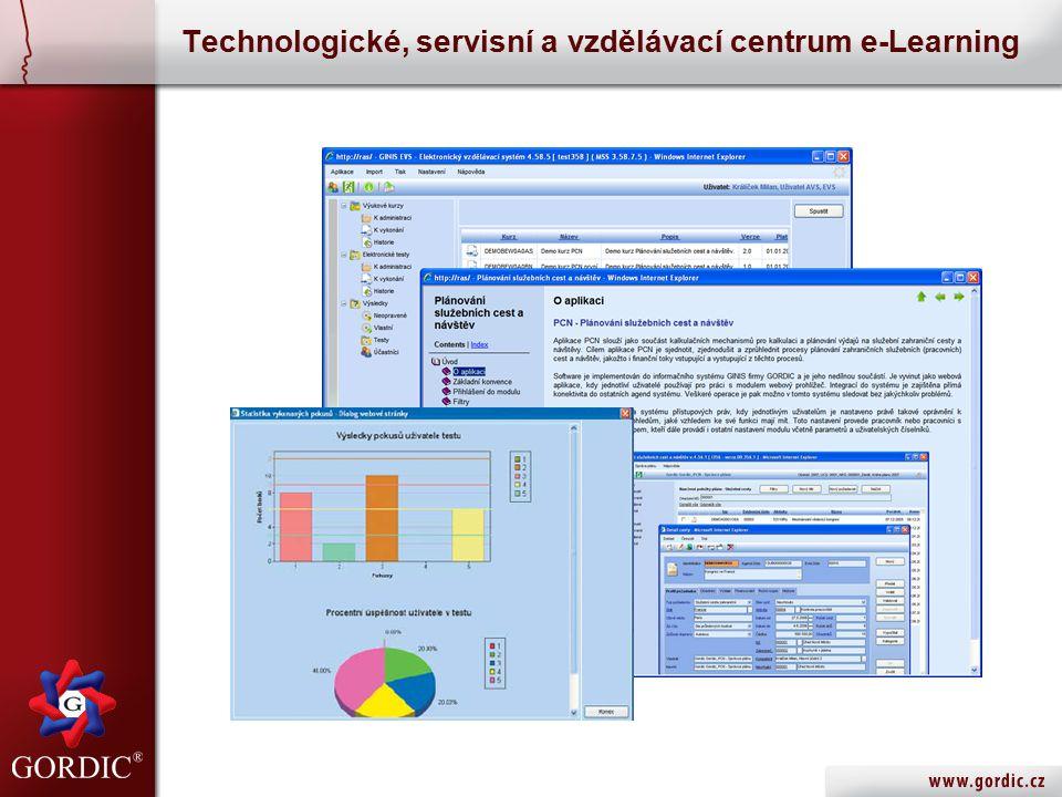 Technologické, servisní a vzdělávací centrum e-Learning