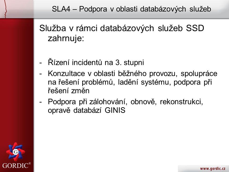 GINIS ® SSD – Systém Správy Dokumentů Aplikaci je možné zprovoznit v testovacím provozu u vybraných zákazníků nad testovací DB GINIS