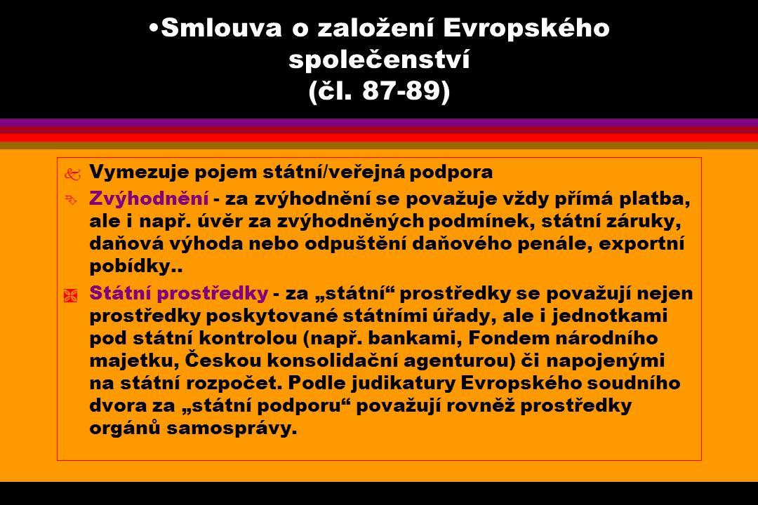 Smlouva o založení Evropského společenství (čl.