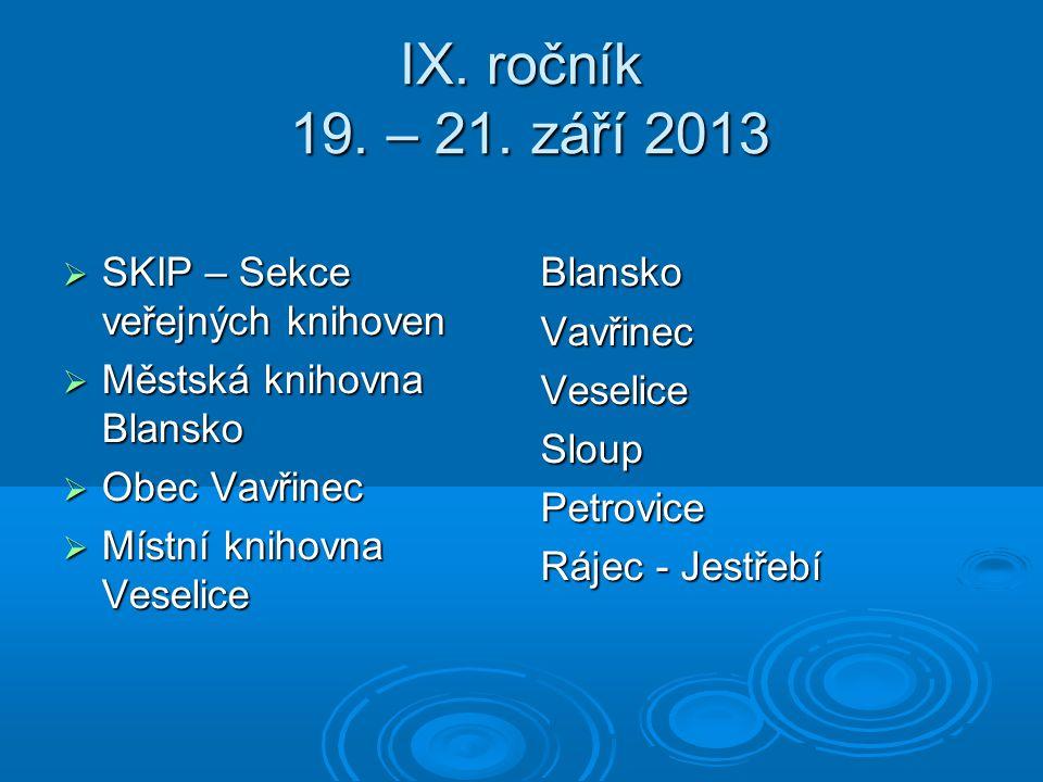 IX. ročník 19. – 21.