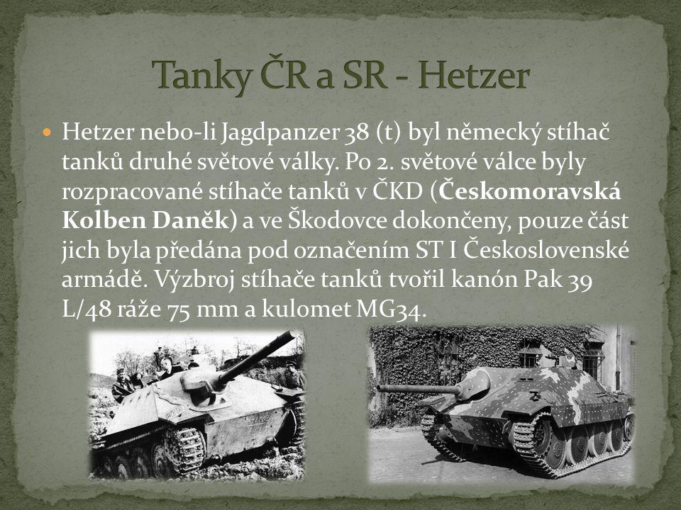 Hetzer nebo-li Jagdpanzer 38 (t) byl německý stíhač tanků druhé světové války.