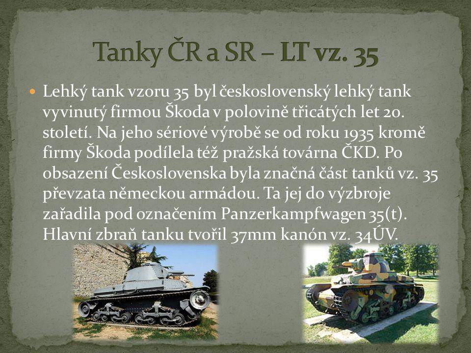 Lehký tank vzoru 35 byl československý lehký tank vyvinutý firmou Škoda v polovině třicátých let 20.