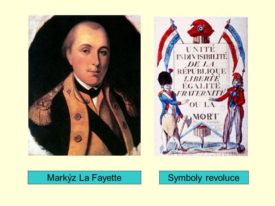 Markýz La FayetteSymboly revoluce