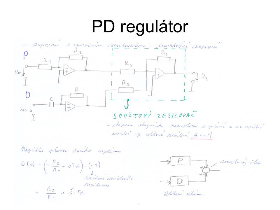 13 PD regulátor