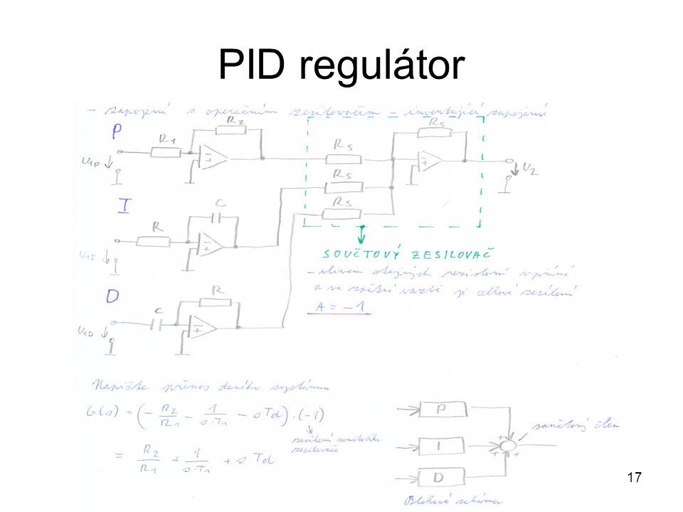 17 PID regulátor