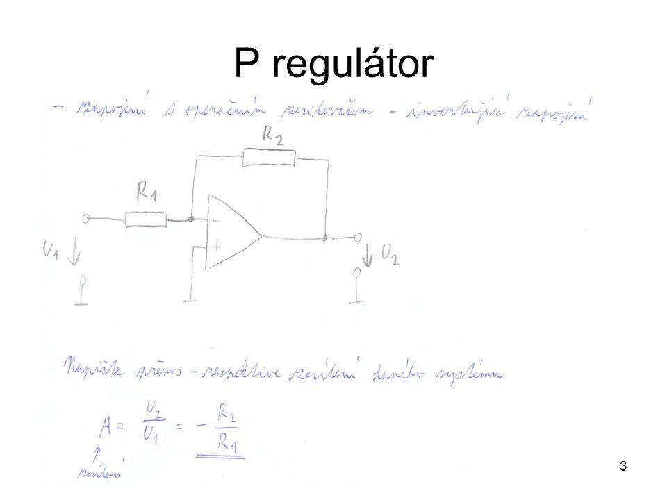 3 P regulátor