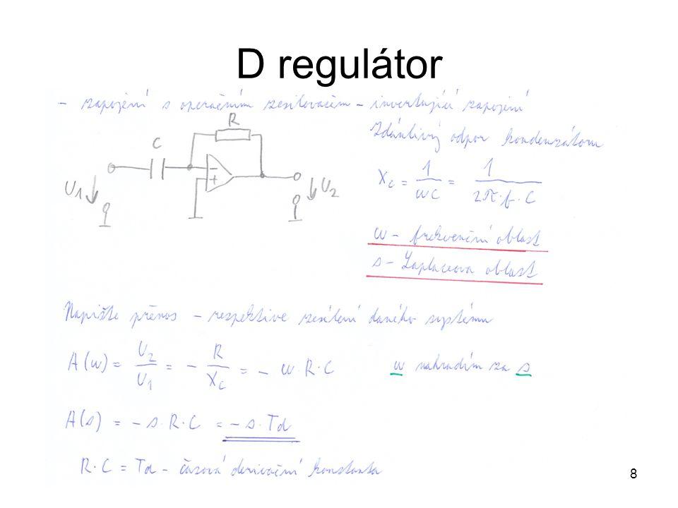 8 D regulátor