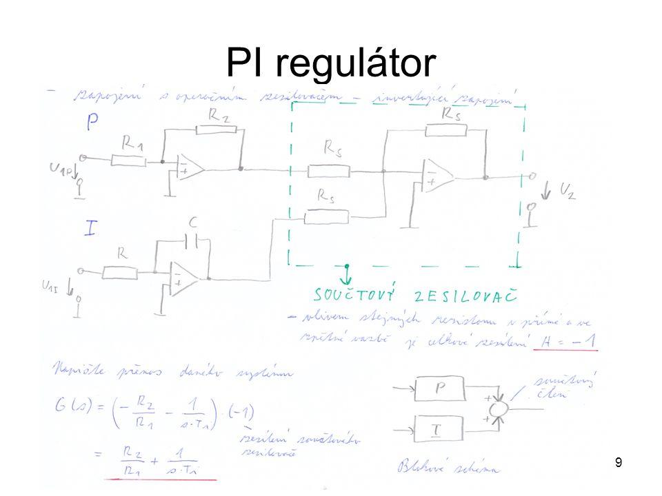 9 PI regulátor