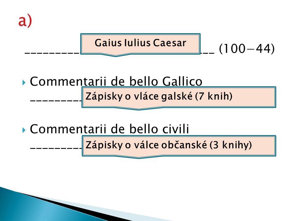 ______________________________ (86−35)  Catilinae coniuratio ________________________________________  Bellum Iugurthnum ________________________________________ Gaius Sallustius Crispus Spiknutí Catilinovo Válka s Jugurthou