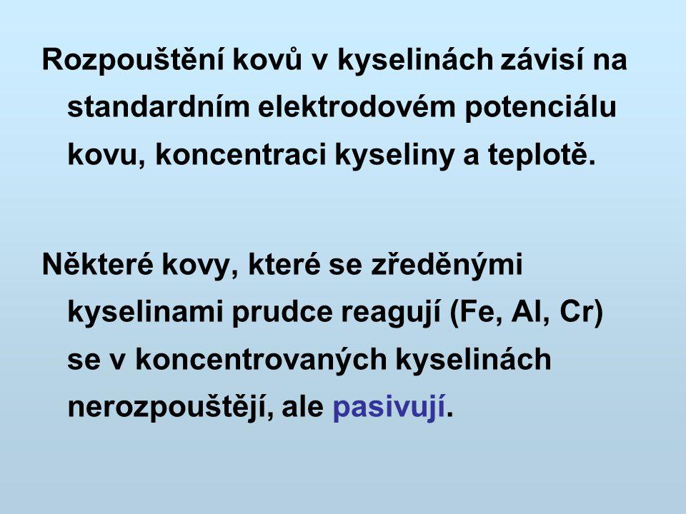 Elektrochemie Praktické aplikace elektrochemie 1.