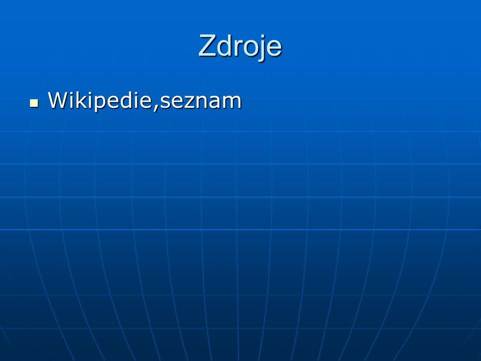 Zdroje Wikipedie,seznam Wikipedie,seznam