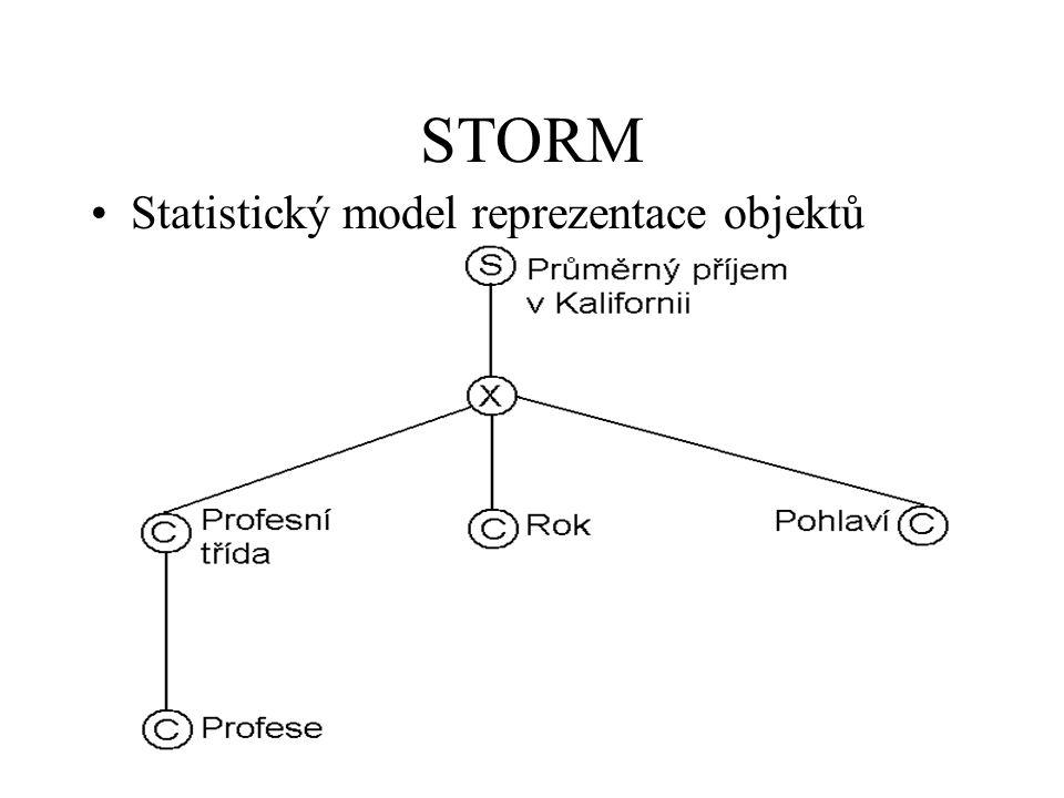 STORM Statistický model reprezentace objektů