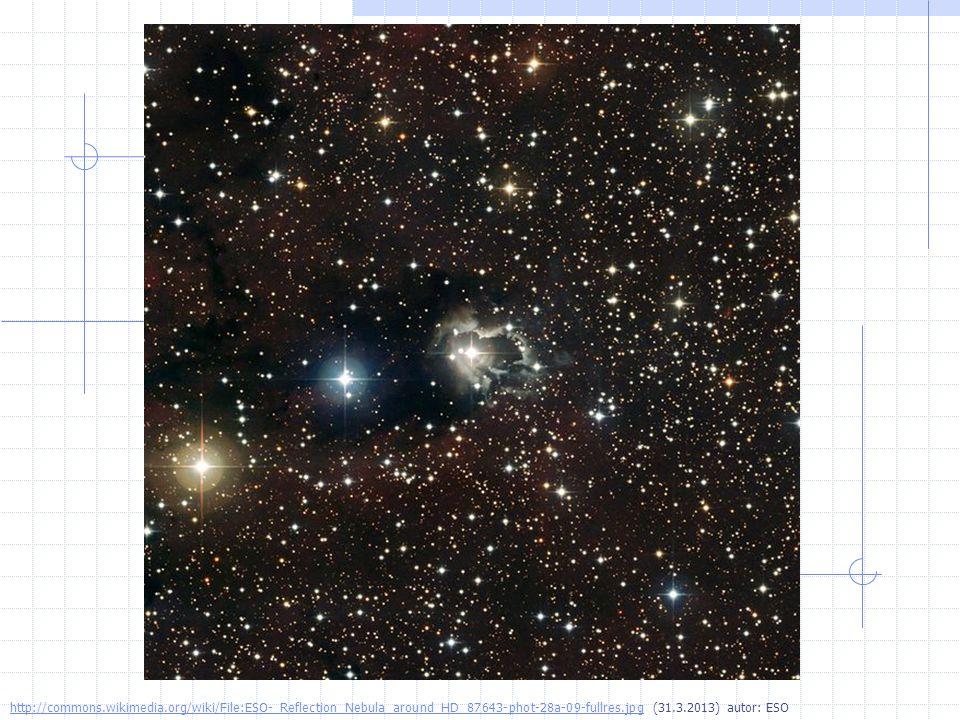 Mlhoviny mezihvězdný oblak prachových částic a plynů jsou rodištěm hvězd