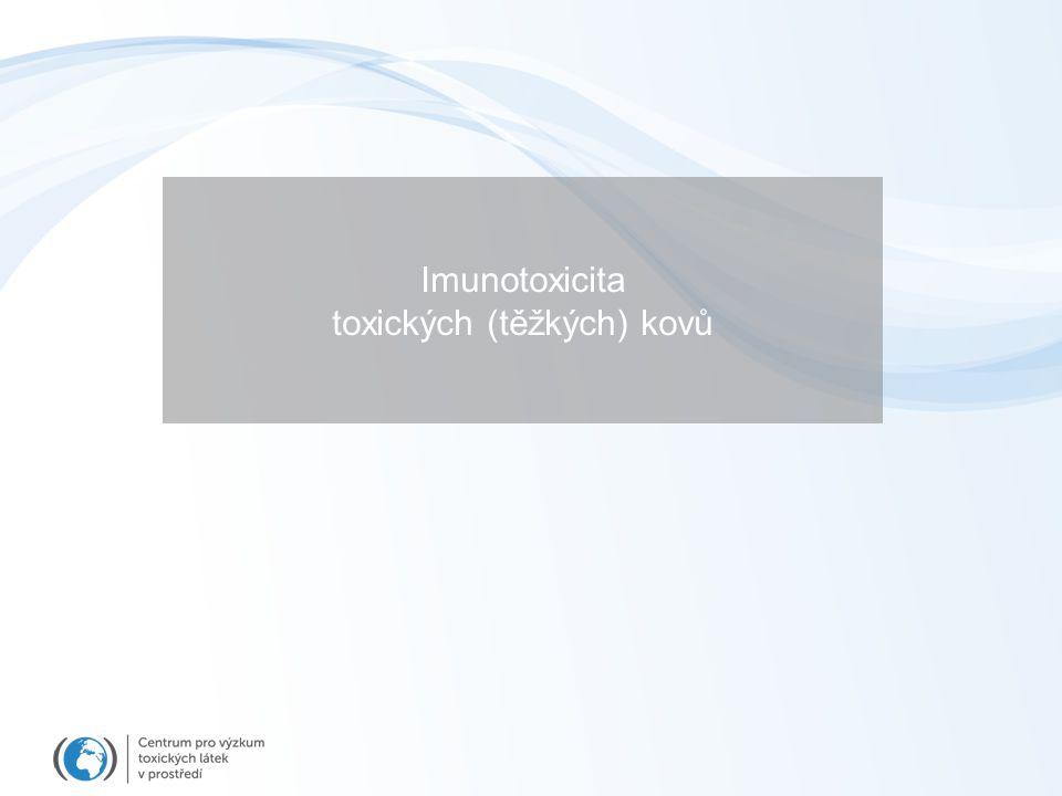 Imunotoxicita toxických (těžkých) kovů