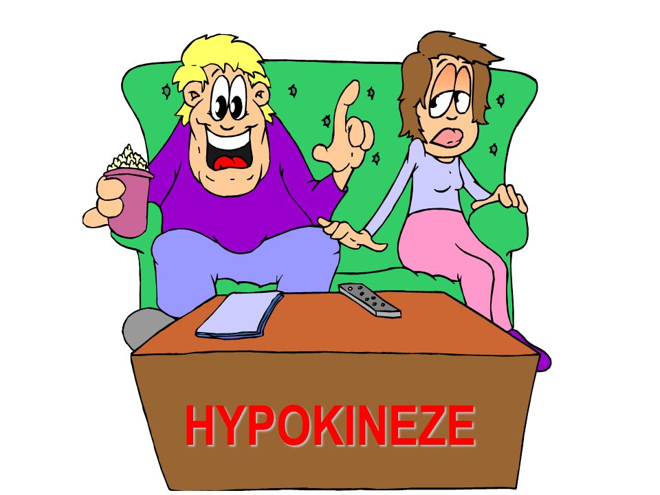 Společným rysem dlouhodobé hypokineze a s ní spojených onemocnění je klesající aktivita vagu posun rovnováhy ANS směrem k sympatiku +